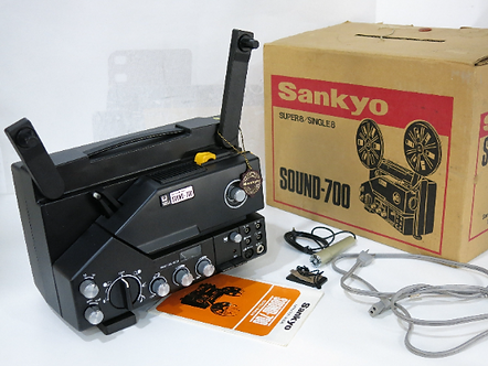 Mint Sankyo SOUND - 700 SUPER 8 SINGLE 8 Movie Projector
