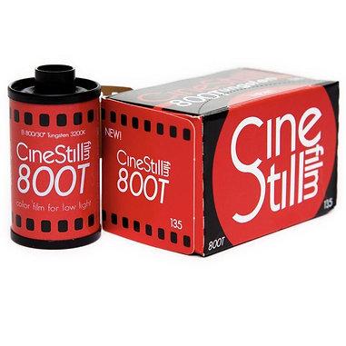 CineStill 800Tungsten / 36 exp. Color film.