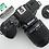 Thumbnail: Nikon F-401 S AF 35mm film camera with Nikkor 80-200mm 4-5.6 D