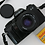 Thumbnail: Minolta X-9 SLR film camera with 50mm MD lens with new roll of film