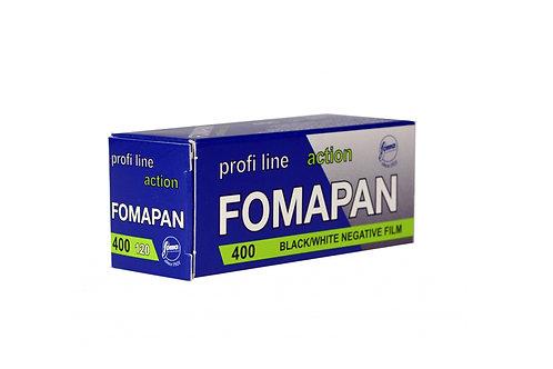 FOMOPAN 400/120 BLACK & WHITE NEGATIVE FILM