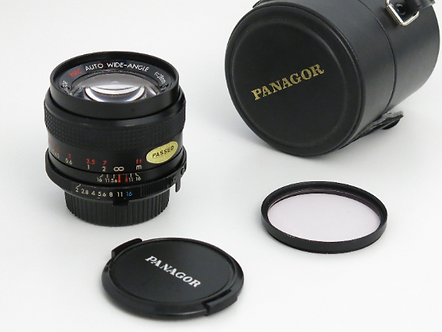 PANAGOR 28mm 2.0 Fast Auto Wide Angle lens MINOLTA MD manual focus lens