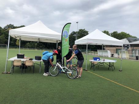 Rayon Vert Vélos à l' Urban Clam Roller samedi 6 juillet