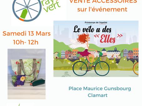 Rayon Vert Accessoires place de la mairie à Clamart le 13 mars