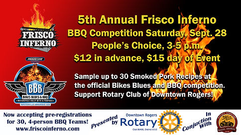 Frisco Inferno Event Banner-Promote Even