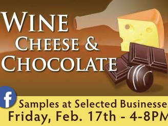 """""""unWINEd"""" in Downtown Rogers Friday, Feb. 17 - """"OPEN LATE - 'til 8"""""""