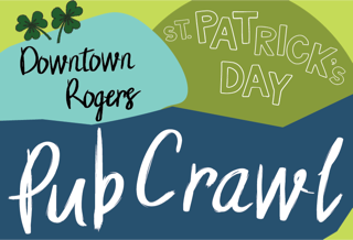 SHOP LATE and Enjoy the 3rd Annual St. Patty's Pub Crawl!