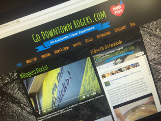 Lots of Great Improvements on the GoDowntownRogers.org Website!
