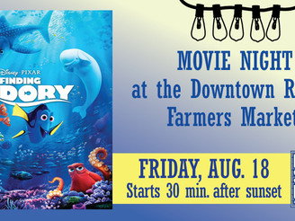 Many shops are open late! It's Third Friday! -- AND, it's Movie Night!