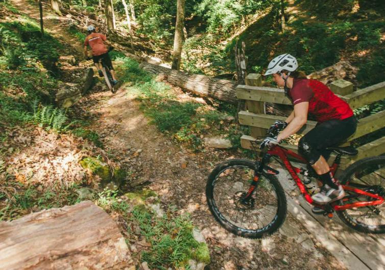Trail riding!