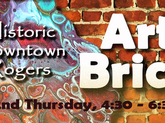 Art on the Bricks Coming to Downtown Rogers Nov. 9