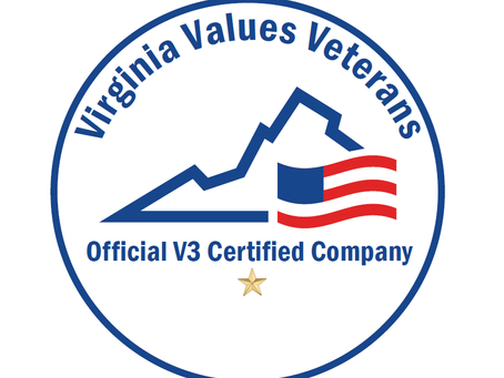 Government Tactical Solutions Receives Virginia Values Veterans Certification