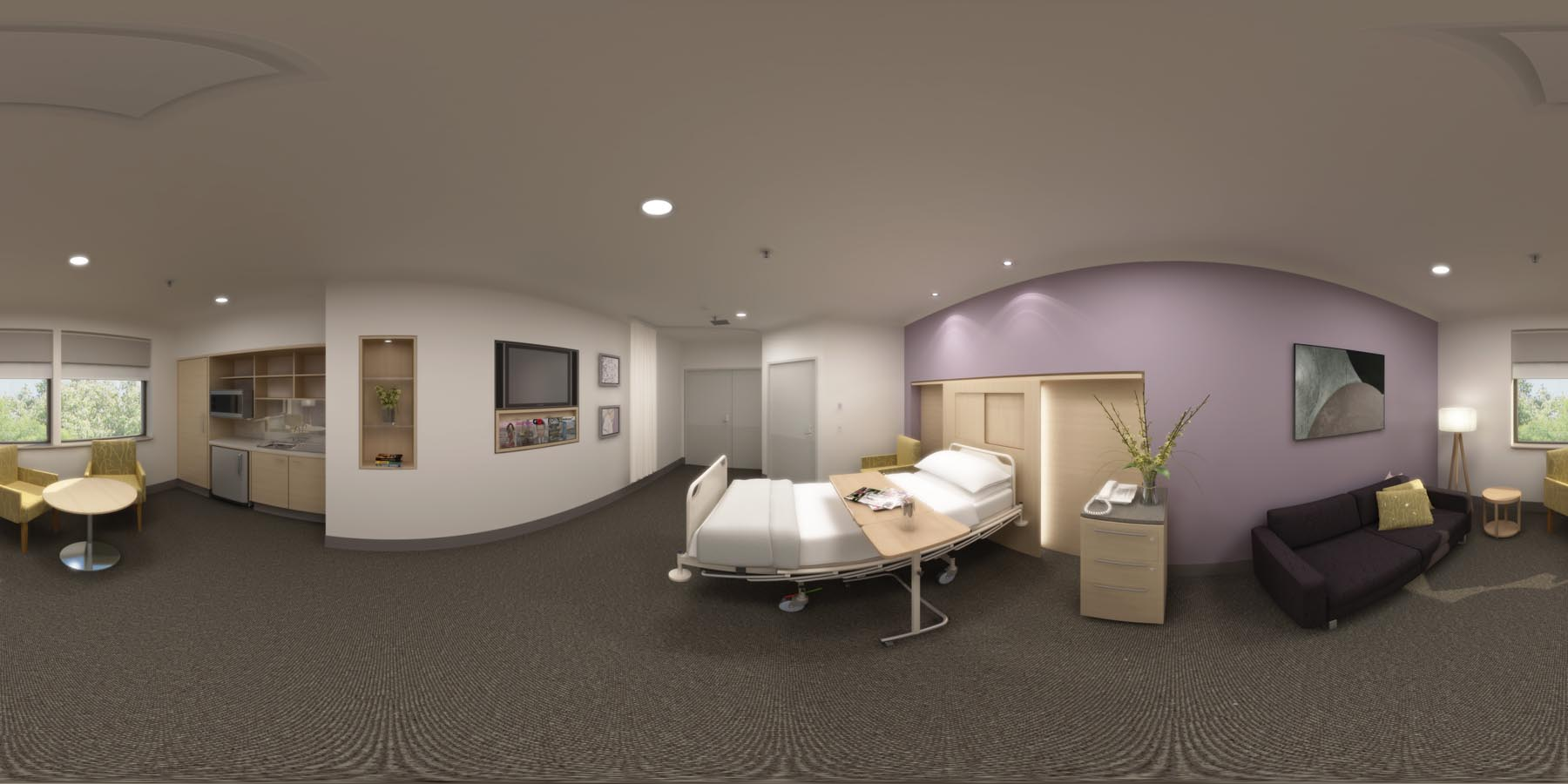 360 VR_bedroom_health care hospital