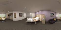 360 VR_bedroom_health care hospital