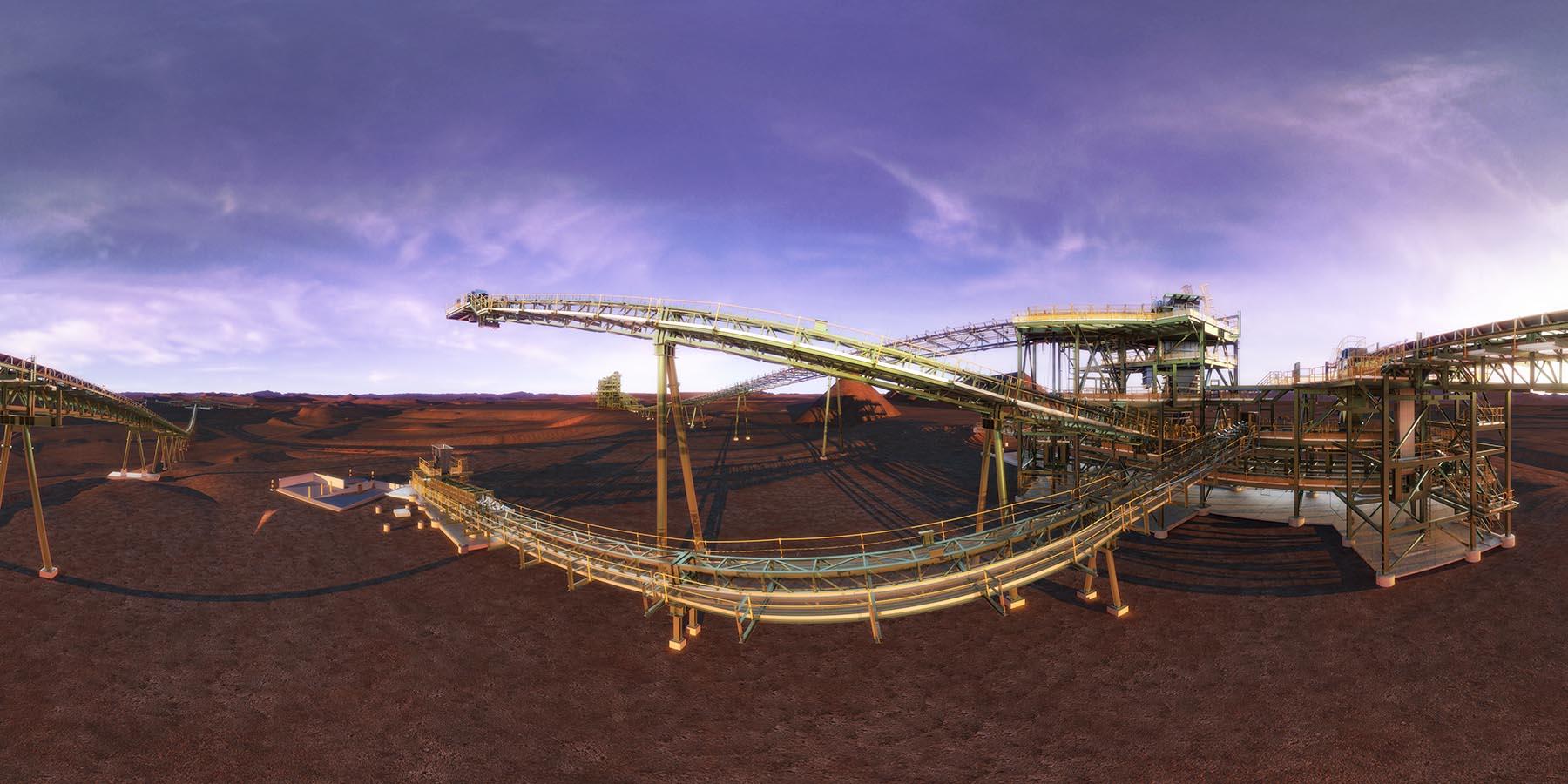 Pilbara Yandi Virtual Reality VR360