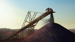Iron Ore Stacker 3d rendering