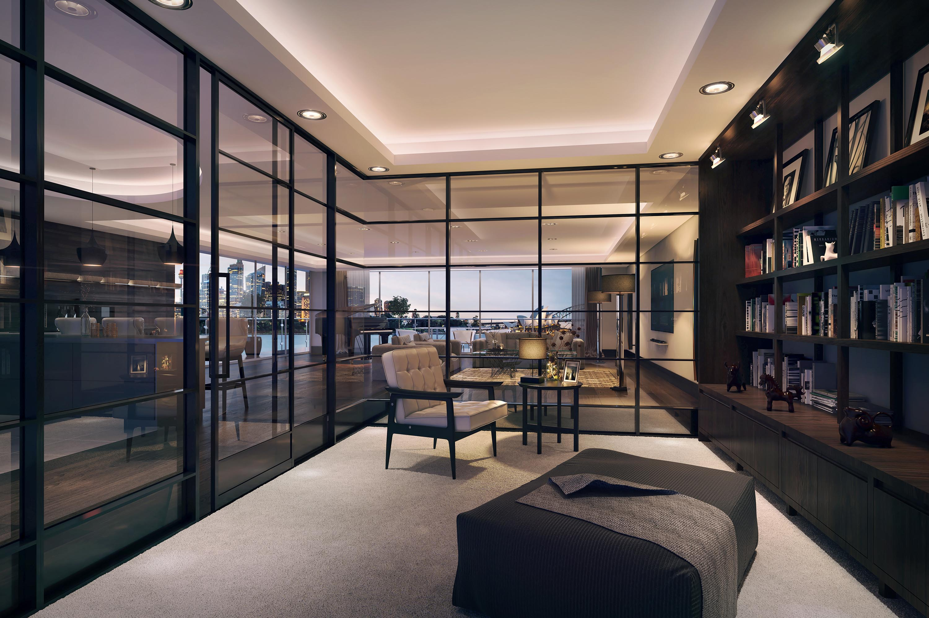 3d+rendering+luxury+apartment+in+sydney+partition+system