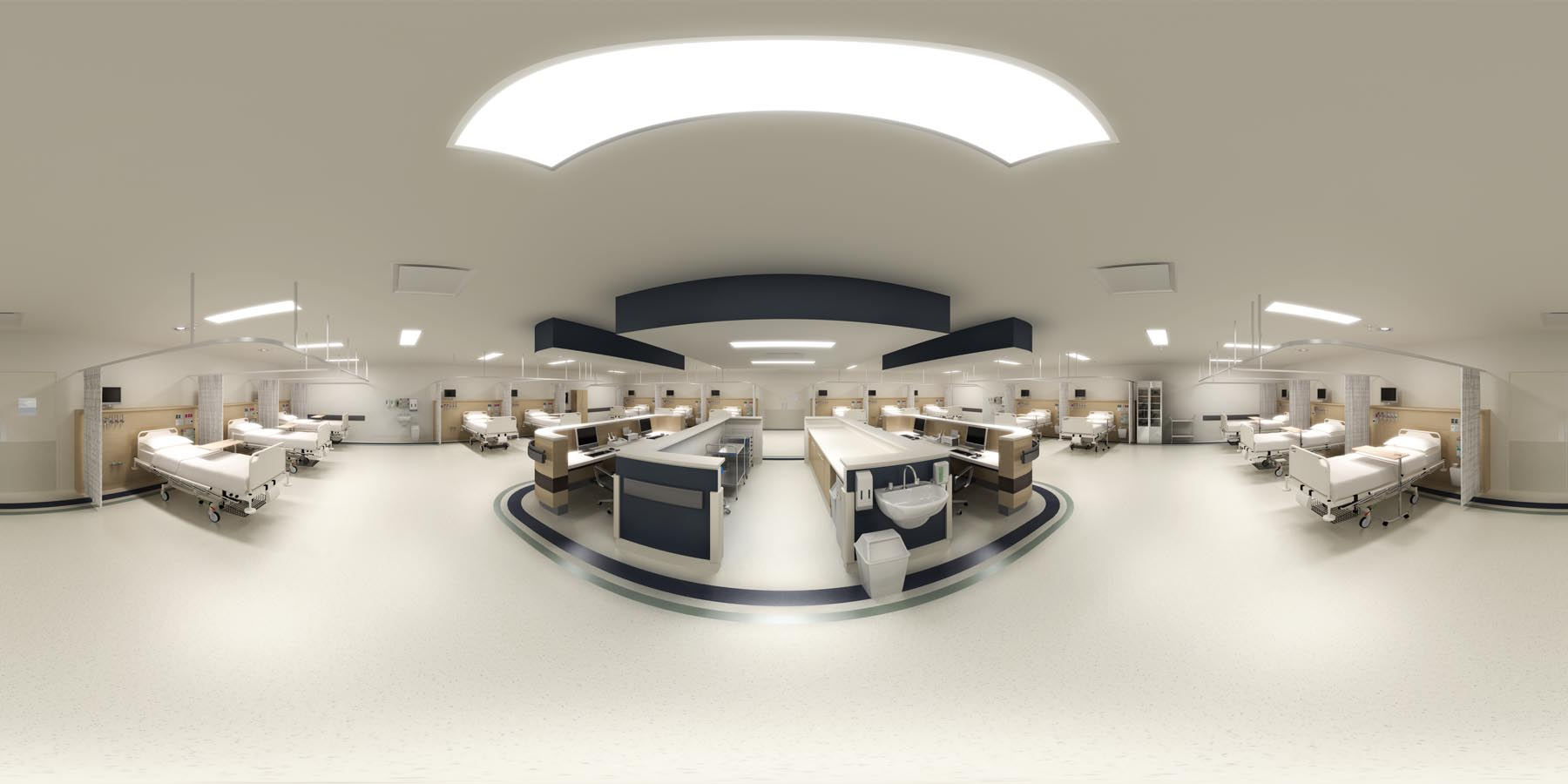 360 VR_recovery health care hospital