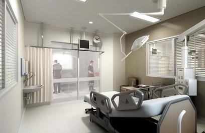 ICU Bedroom, hospital