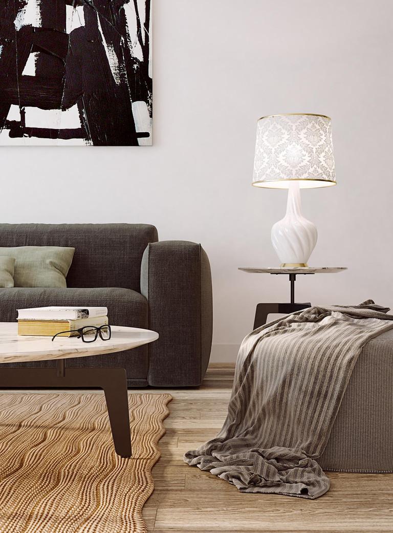 3d+living room+sofa+realism+render+lamp+