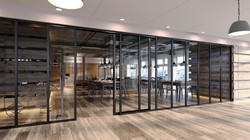 3d+rendering+restaurant+shop+front+partition+system