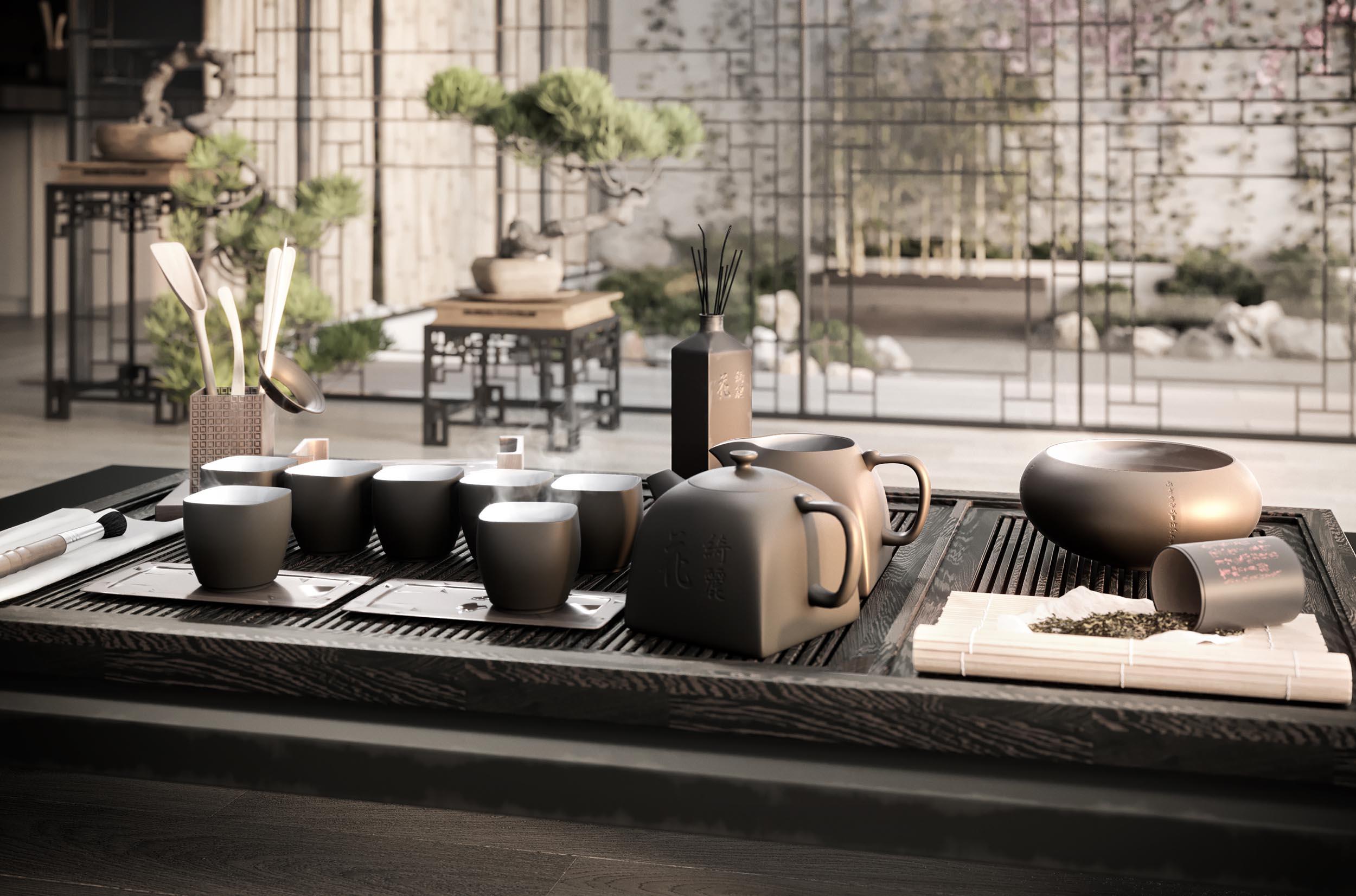 Korean tea time_visualised_created by Ke