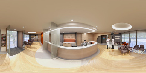 Hospital reception, Penang Advestist Hospital