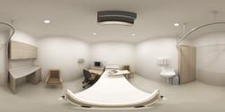 360 VR_bedroom health care hospital