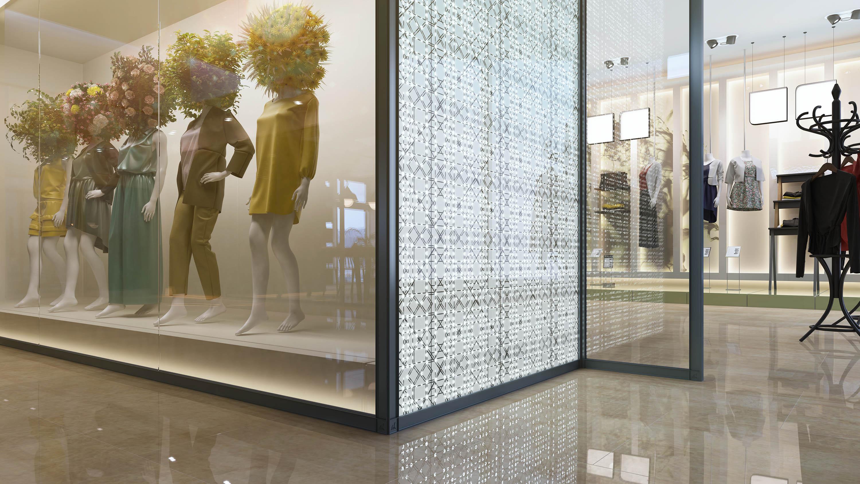 3d+rendering+retail+shop+front+partition+system