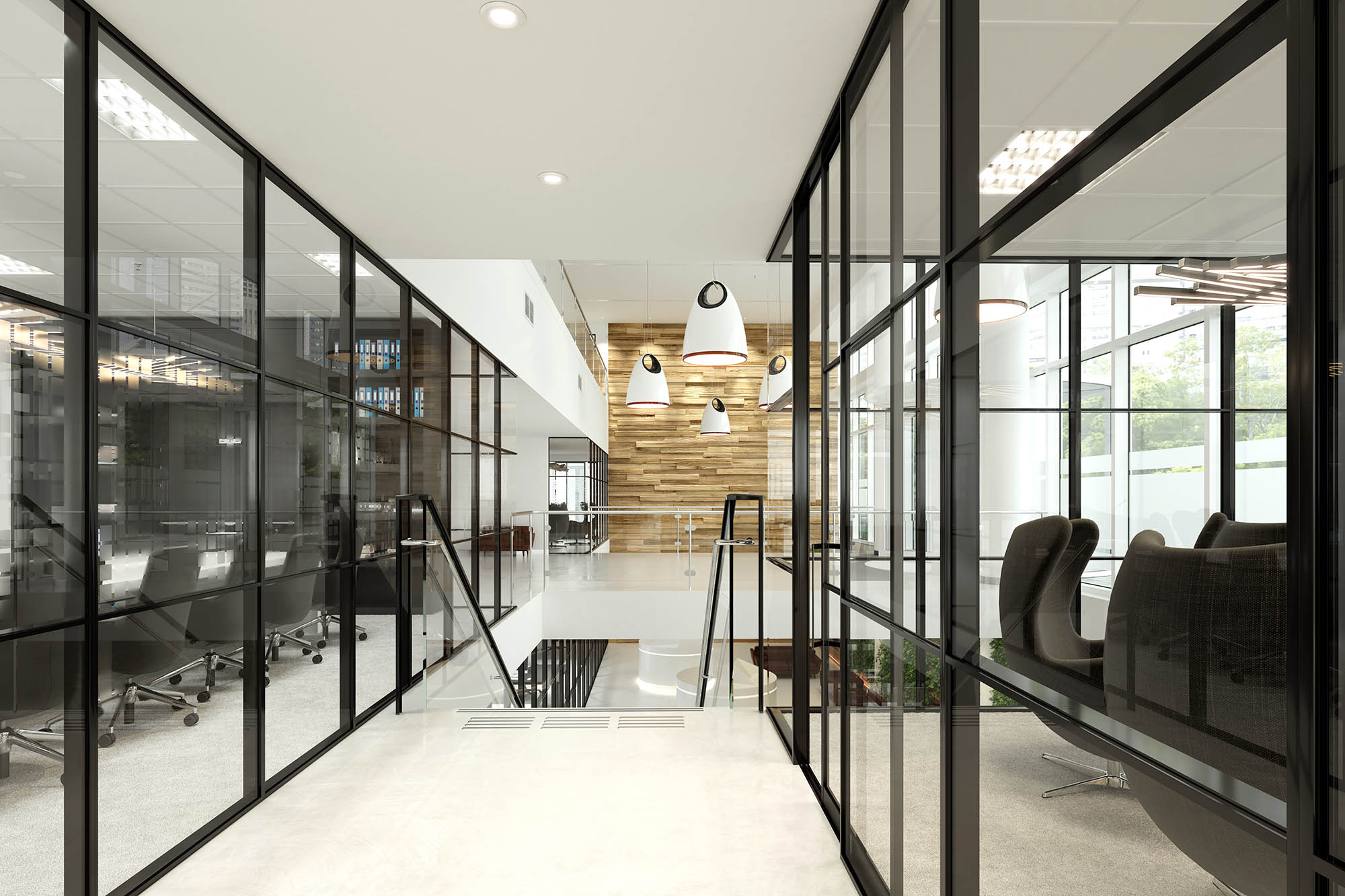 3d+render+in+Melbourne+of+office+interior+fitout+partition+system