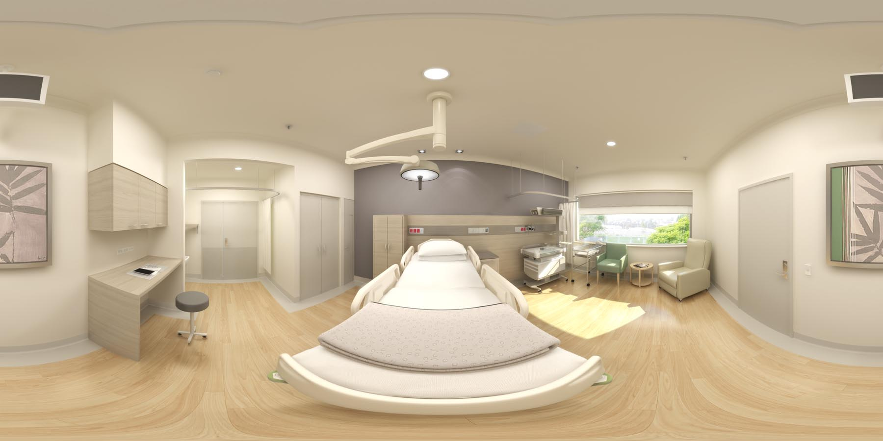 360 Virtual Reality_birthing suite