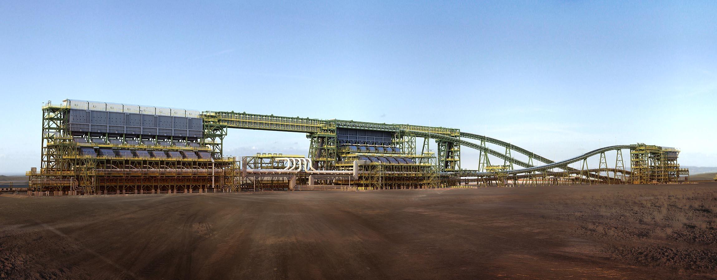 Jimblebar Iron ore mining