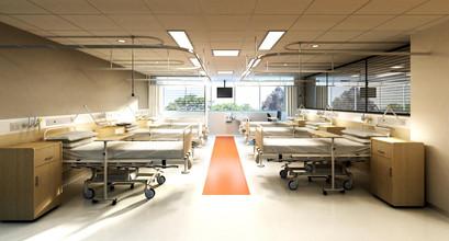 Lantau hospital, 6bed room