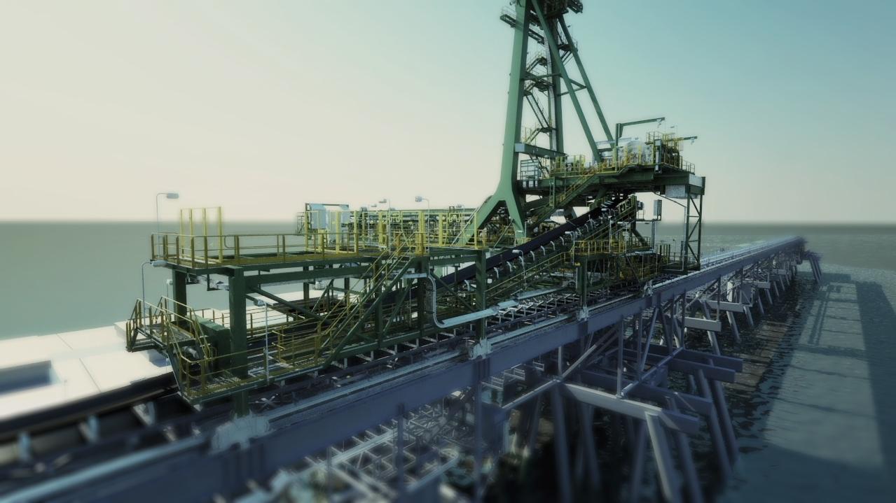Wiggins island coal export terminal