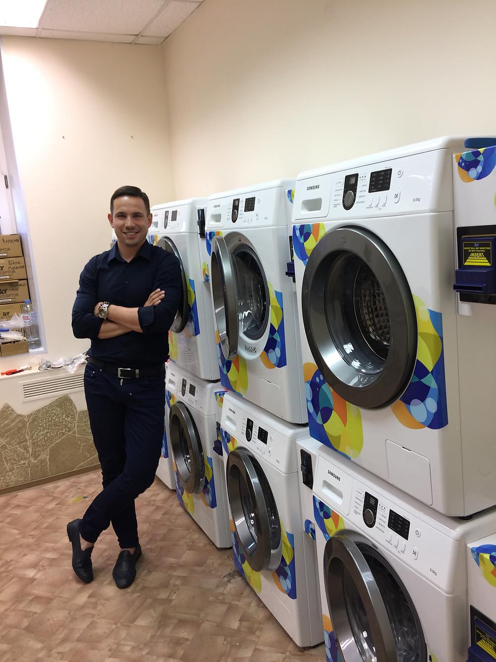 Ландроматы Прачечечная самообслуживания купить стиральную машину с купюроприемником