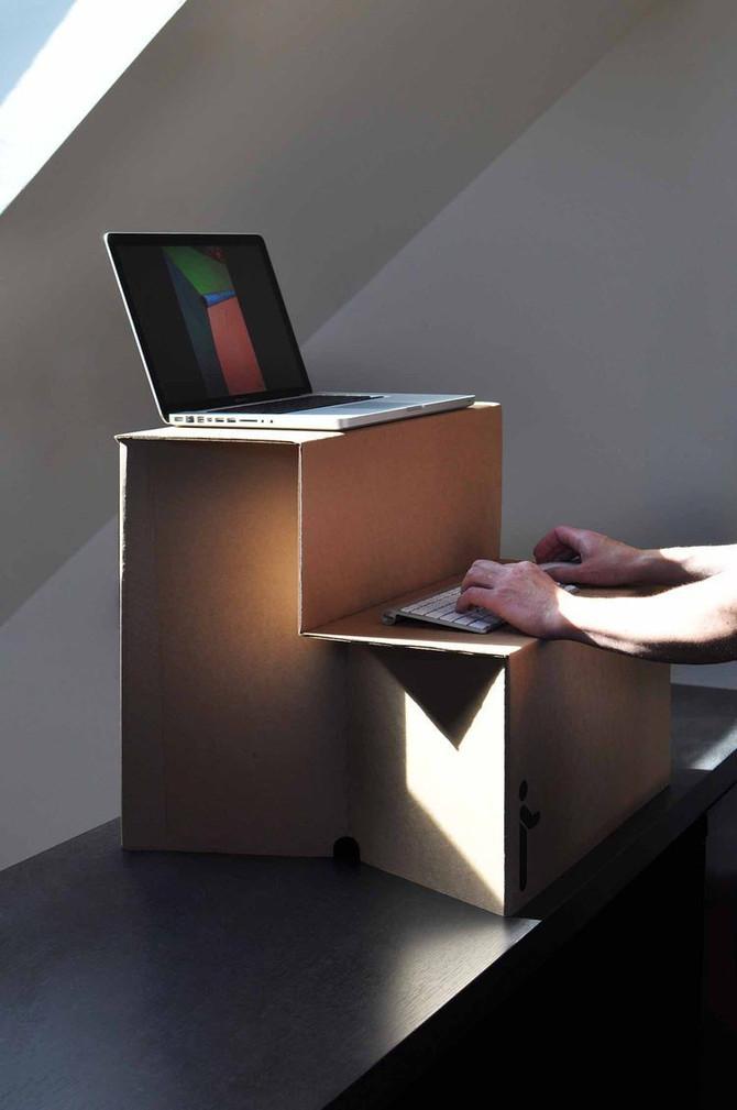 Сегодня в «Идеях для бизнеса» — подставка для работы стоя Oristand,