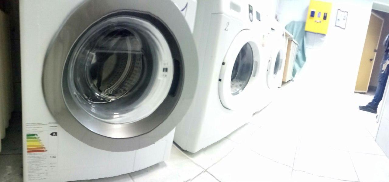 прачечная самообслуживания в общежитии