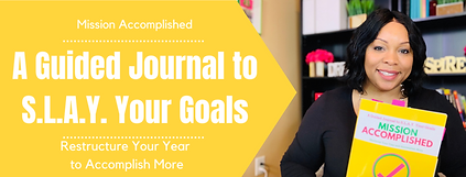Guided Journal SLAY Your Goals
