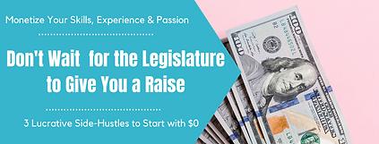 Don't Wait for the Legislature