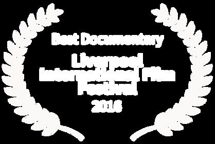 Liverpool International Film Festival - Soup For My Brother - festival laurel