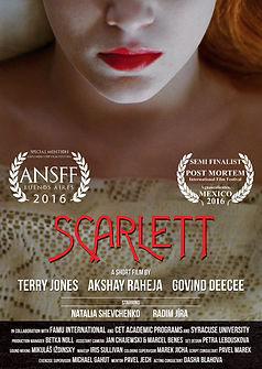 Scarlett - Movie Poster
