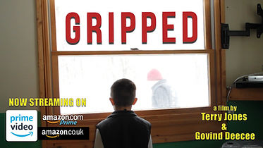 Movie poster for Gripped - a film by Terry Jones & Govind Deecee