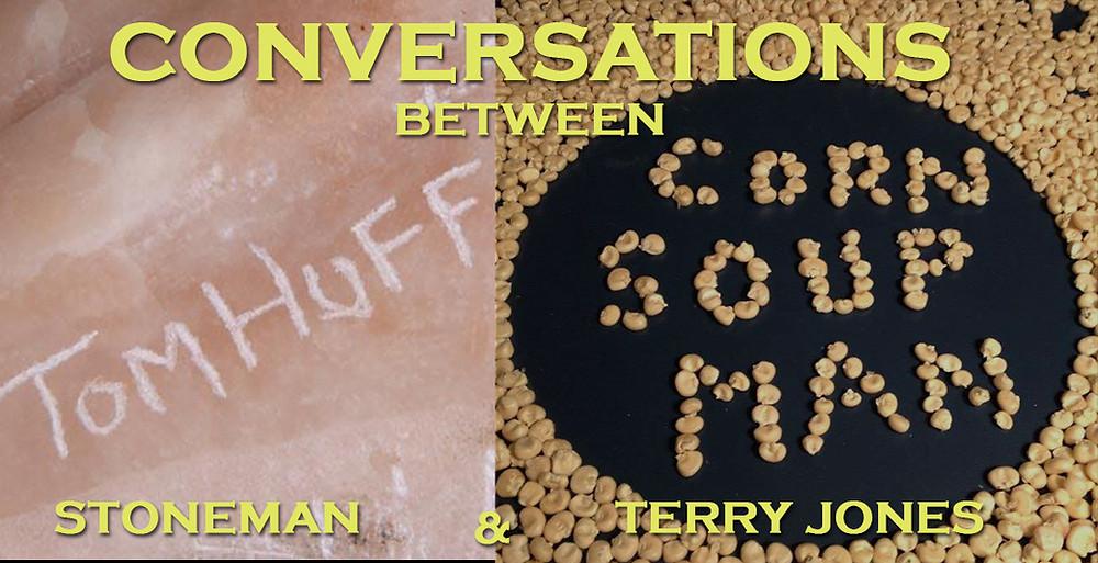 Stone Carver, Tom Huff & Filmmaker, Terry Jones