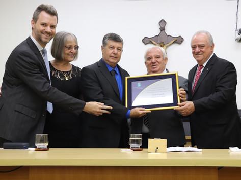 Fundador da ABA, Geraldo Campesan recebe Diploma de Honra ao Mérito