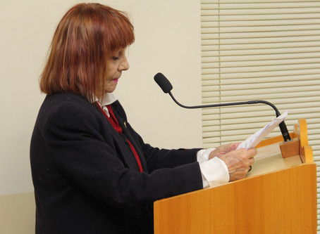Escritora defende projeto que institui o Dia Municipal da Literatura