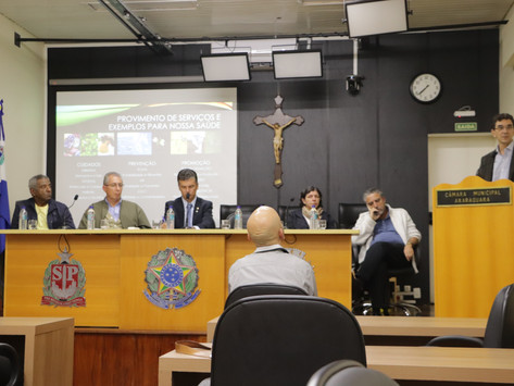 Relação 'Saúde e Meio Ambiente' é tema de Audiência Pública