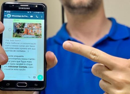 Vereador questiona uso do WhatsApp criado pela Prefeitura, fruto de sua indicação em 2017