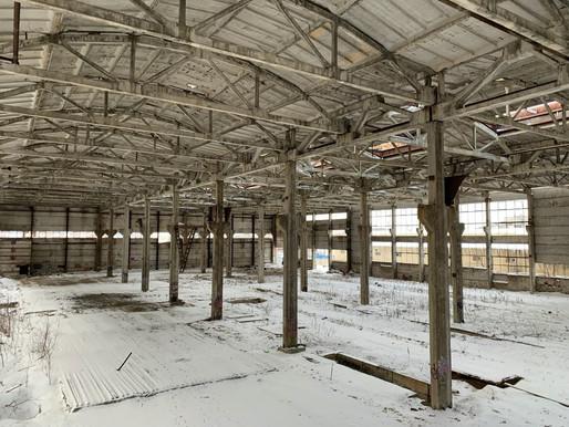 Несущие конструкции объекта незавершенного строительства