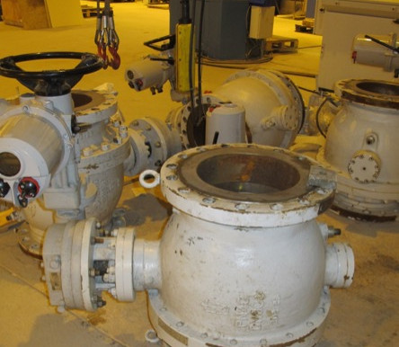 Шаровые краны DN 300 PN40