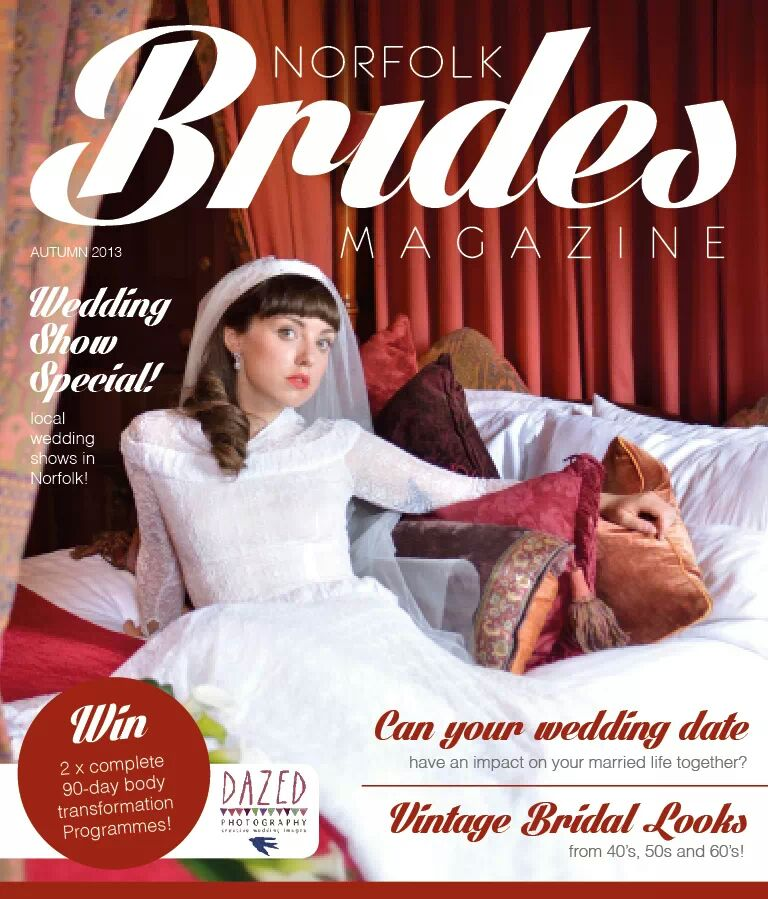 Featured in Norfolk Brides